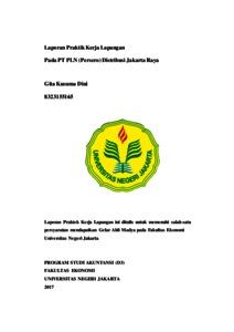 Laporan Praktik Kerja Lapangan Pada Pt Pln Persero Distribusi Jakarta Raya Repository Fakultas Ekonomi Unj