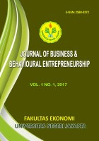 Journal of Business and Behavioural Entrepreneurship